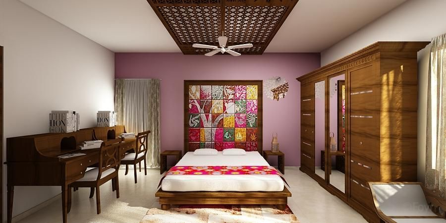 Honeyguide Ethnic False Ceiling By III In Hyderabad