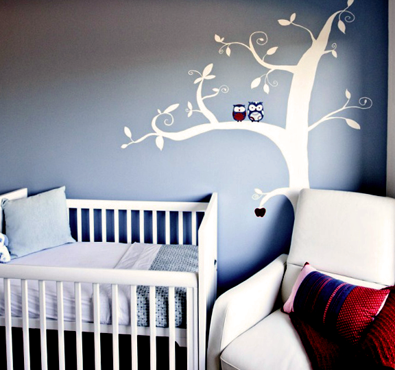 Real Rooms Nurseries Owl Themed Nursery Owl And Themed