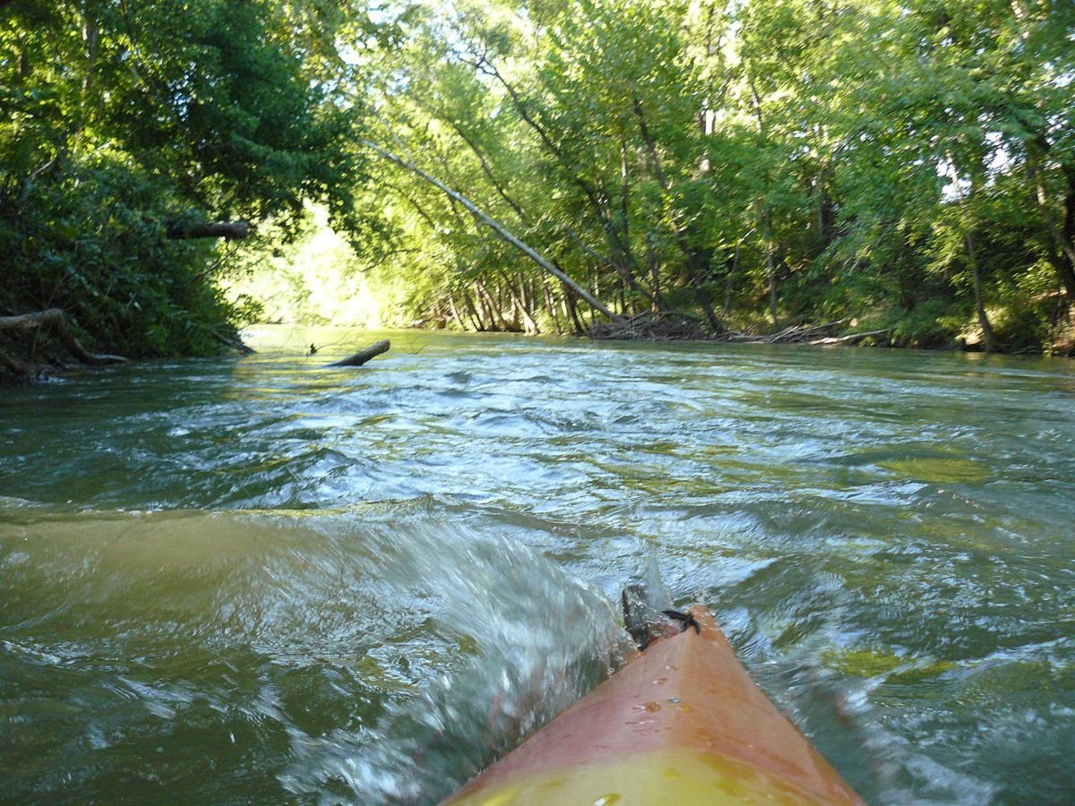 Float trip reports illinois river tahlequah ok scenic for Illinois river fishing