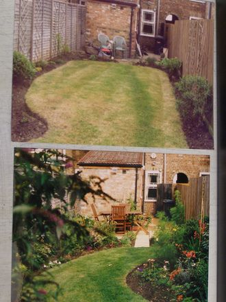 Long thin garden makeover : Grows on You … | Small Backyard | Pinte…