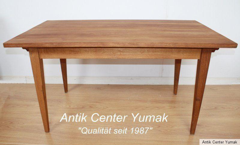 Biedermeier Jugendstil Tisch Esstisch Tafel Kuchen Gesindetisch Antik Eiche Nuss Ebay Biedermeier Tisch Esstisch Kuchen Tafel