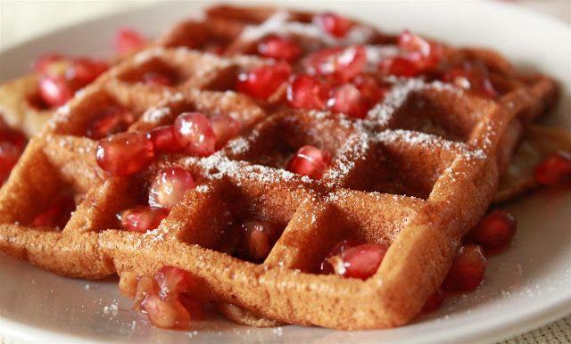 Receitas ao Desafio: Waffles