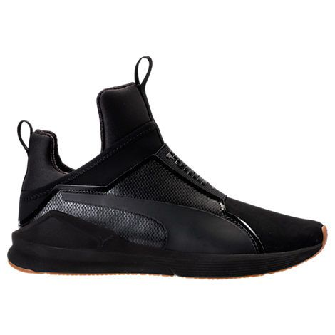 Black puma shoes