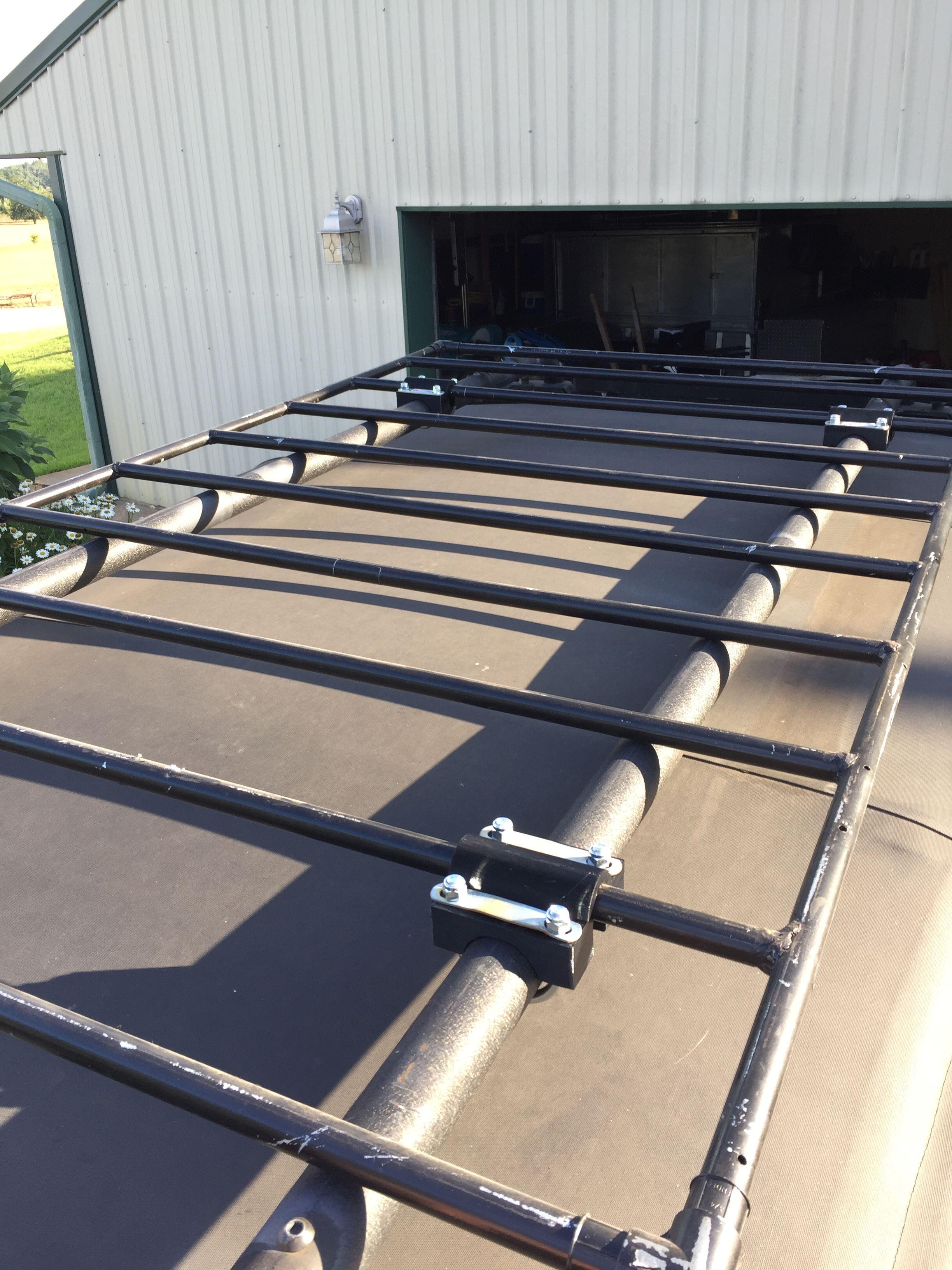 Jeep Roof Rack And Custom Clamps Adventure Trailers Roof Rack Custom