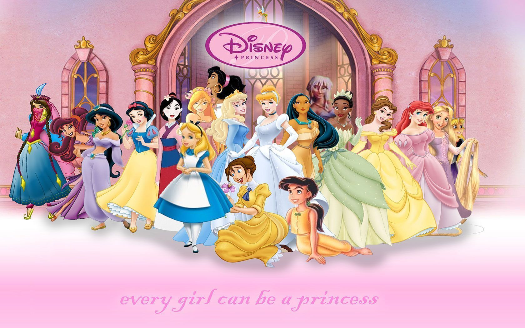 Wallpapers For > Baby Disney Princess Wallpaper | disney ...