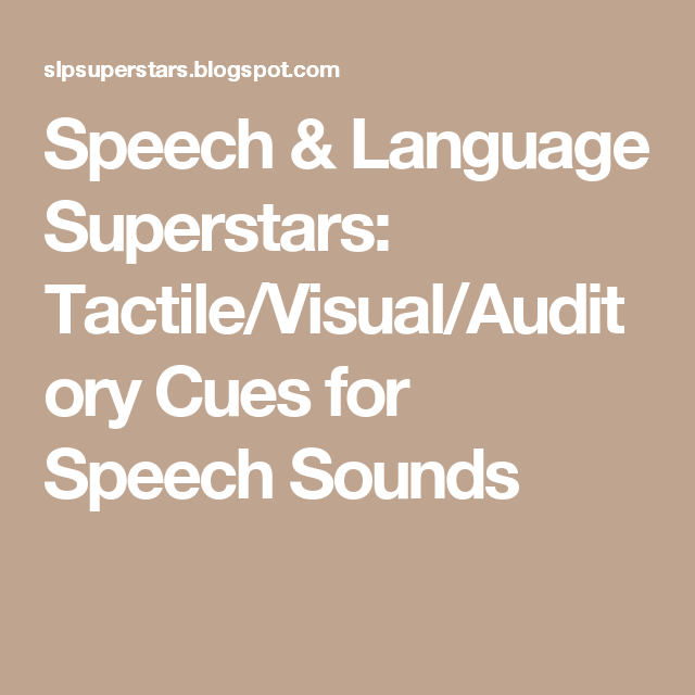 Speech language superstars tactilevisualauditory cues for articulation therapy spiritdancerdesigns Choice Image