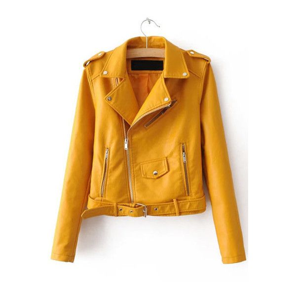 US Womens PU Punk Slim Biker Motorcycle Short Jacket Lapel Leather Coat Outwear