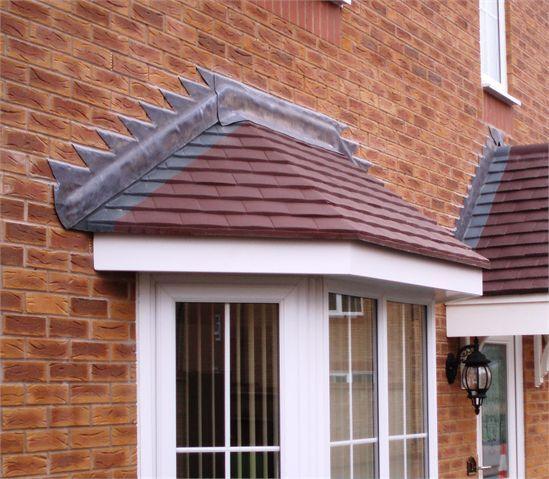 bay window tiled canopy - Google Search & bay window tiled canopy - Google Search | Exterior - Home and ...