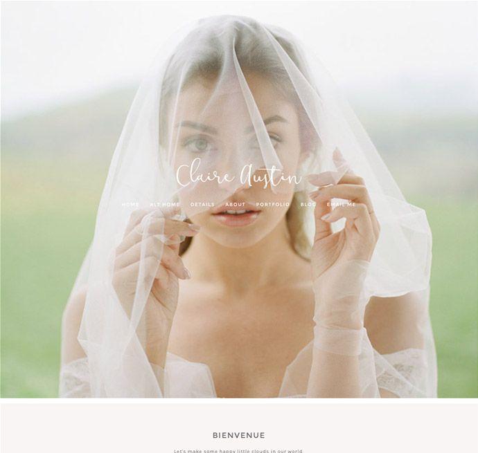 Prophoto 6 template - claire austin | business | Pinterest | Templates