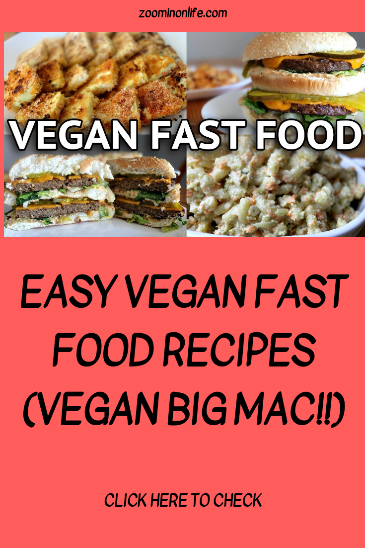 Easy vegan fast food recipes vegan big mac vegan fast food big easy vegan fast food recipes vegan big mac forumfinder Gallery
