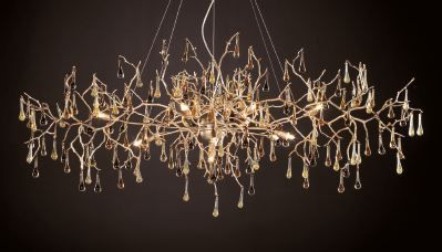 Wonderful Contemporary Lighting  Custom Built Portuguese Lighting SERIP  Perfect In  An Art Nouveau Interior