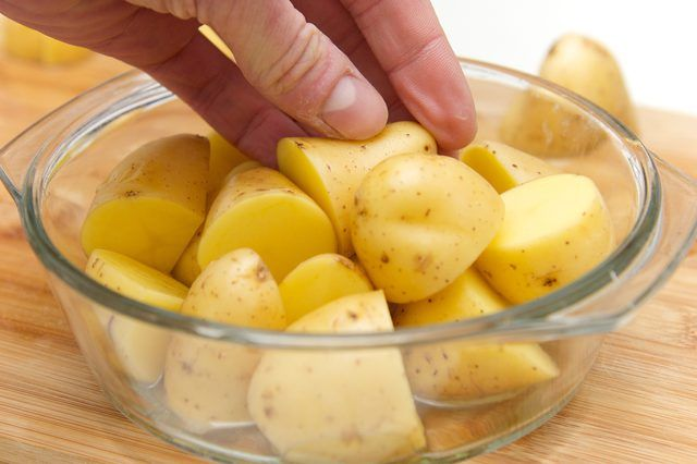 How To Cook Baby Potatoes In The Microwave Potatoes In
