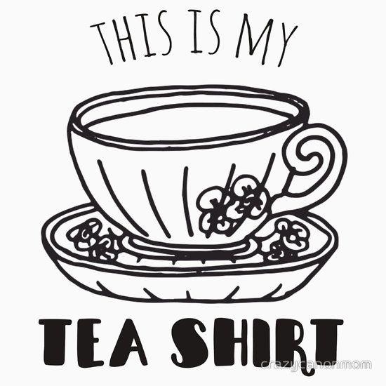 This Is My Favorite Tea Shirt Funny Pun Shirt