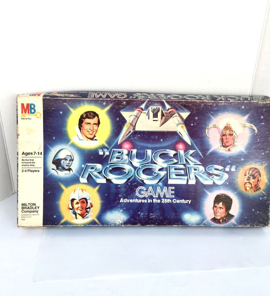 1979 Buck Rogers Adventures In The 25th Century Milton Bradley Space Board Game…