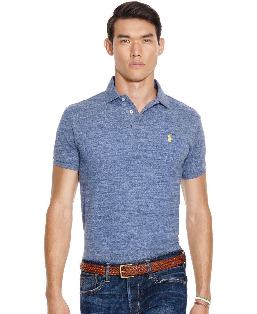 26110d9a6c67ae Polo Ralph Lauren Custom-Fit Mesh Polo Shirt