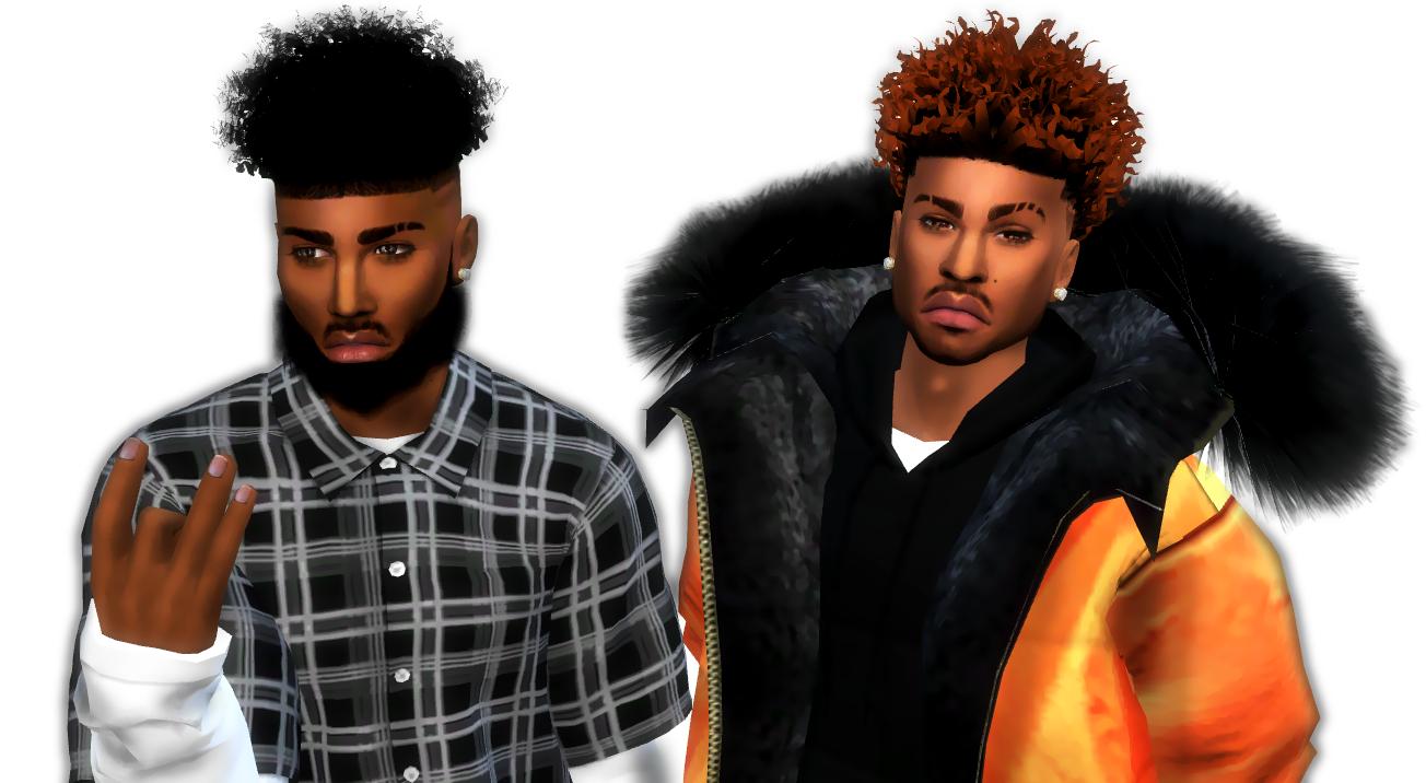 Sims 4 Mods Black Hair