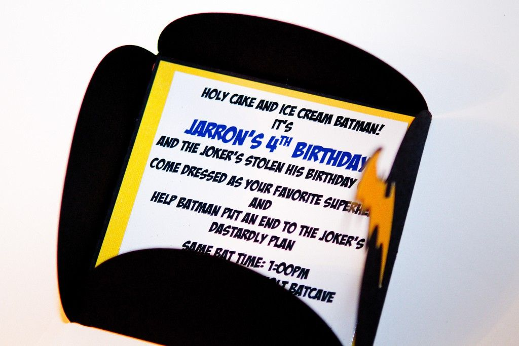 Batman Party Invitations by reginamarieholt on Etsy, $30.00 | Batman ...