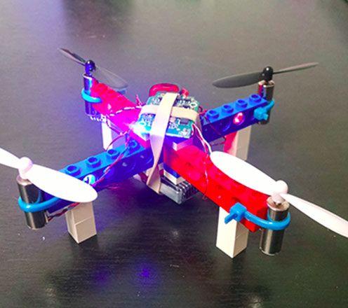 Mini lego drone kit rc drone legos and lego mini lego drone kit do it yourself kitelectronic kitsrc solutioingenieria Images