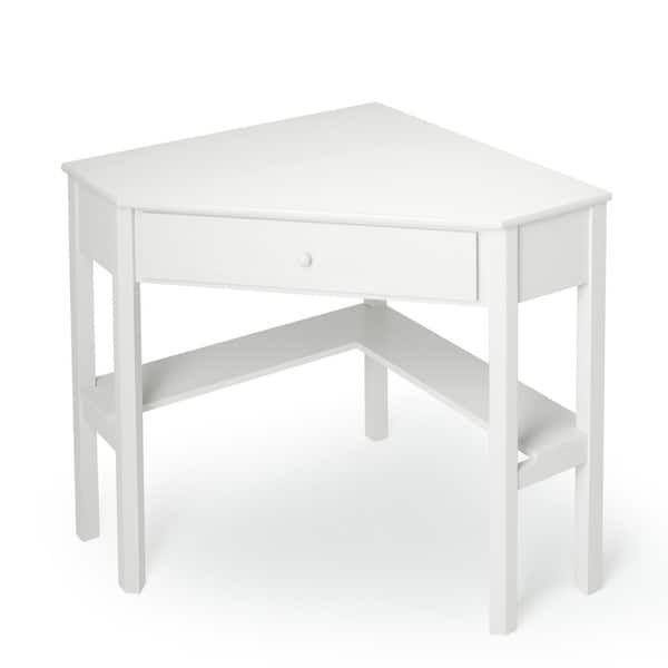 Winslow White Kurv Floating Desk White Prepac White Wood Desk Furniture Space Saving Computer Desk