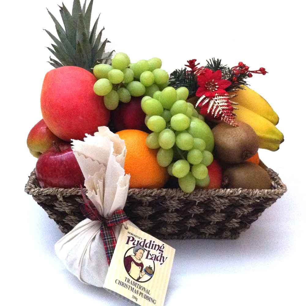 Fruit Basket + The Pudding Lady Christmas Pudding in 2018 ...