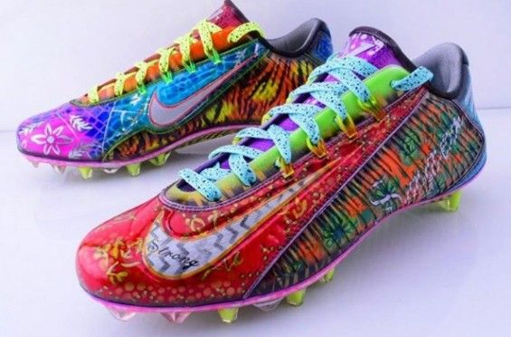 7df683200a6 Come On Maannn  Odell Beckham Jr. Fined By The NFL For Wearing Craig Sager  Cleats Last Week