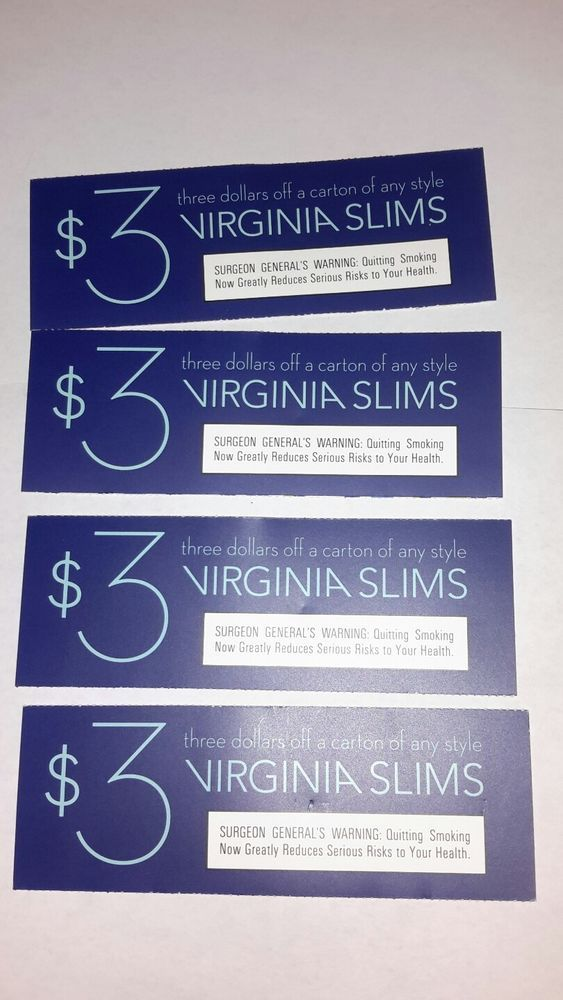 image relating to Virginia Slims Coupons Printable referred to as Facts more than VIRGINIA SLIMS -- cigarette Discount coupons For Sale
