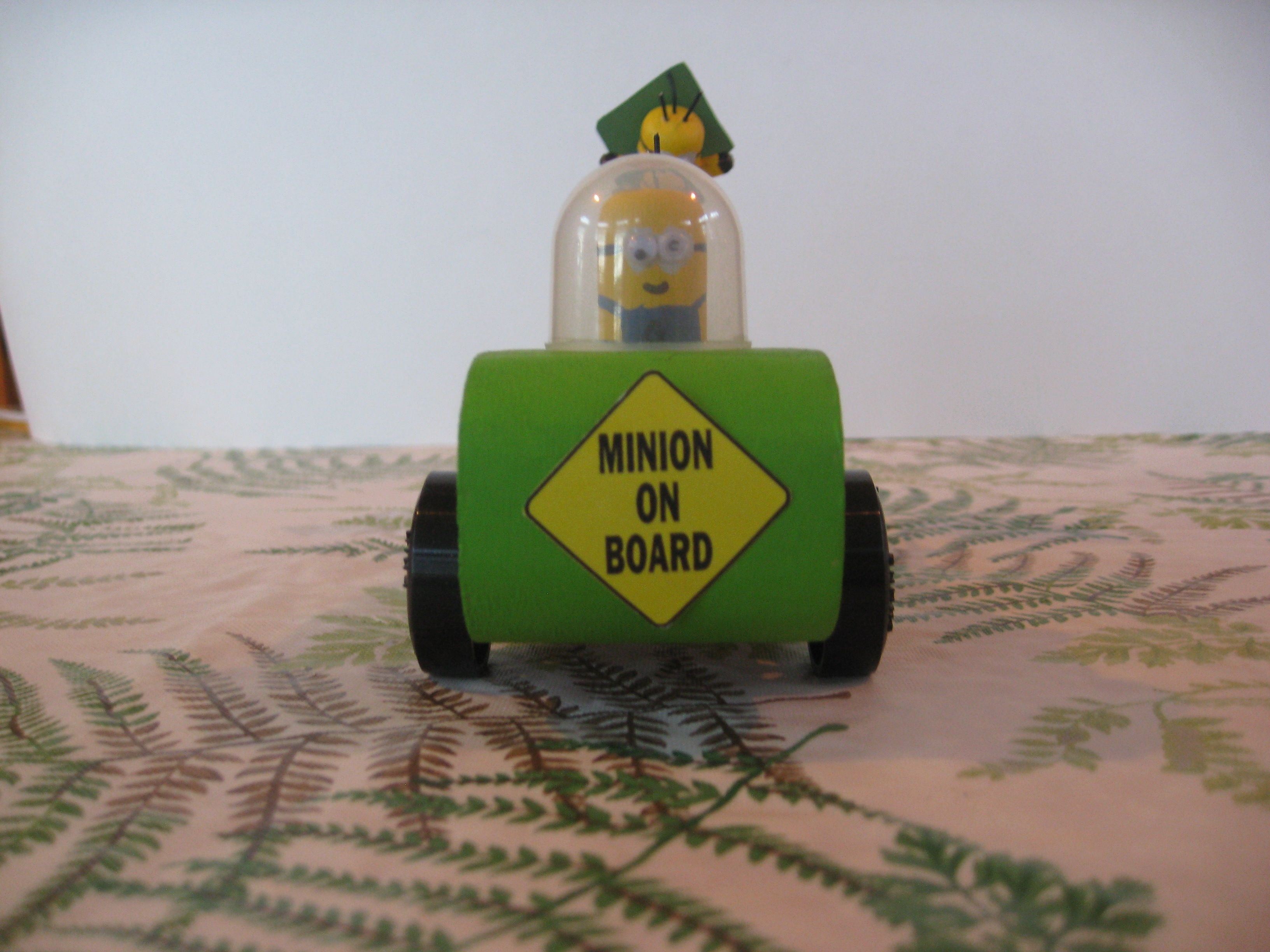 A S Minion Racer For Awana Grand Prix