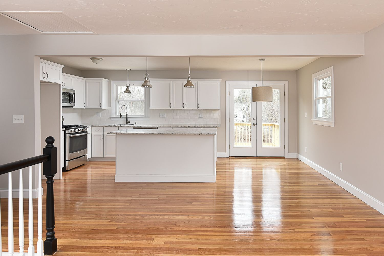 Parker print 4 for the home kitchen remodel home - Kitchen designs for split level homes ...