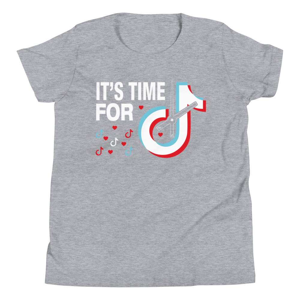 Time For Tiktok T Shirt Overhemd T Shirts Wordpress