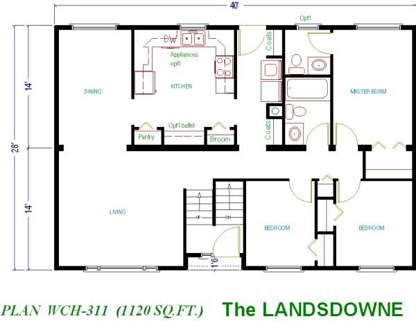 House Plans Under 1000 Sq Ft 1000 Sq Ft Ranch Plans Small House Floor Plans Smart House Plans Guest House Plans
