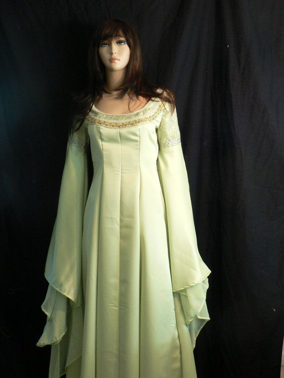 Arwen Coronation Gown Lord of the Rings by khloeskustomklothing, $195.00