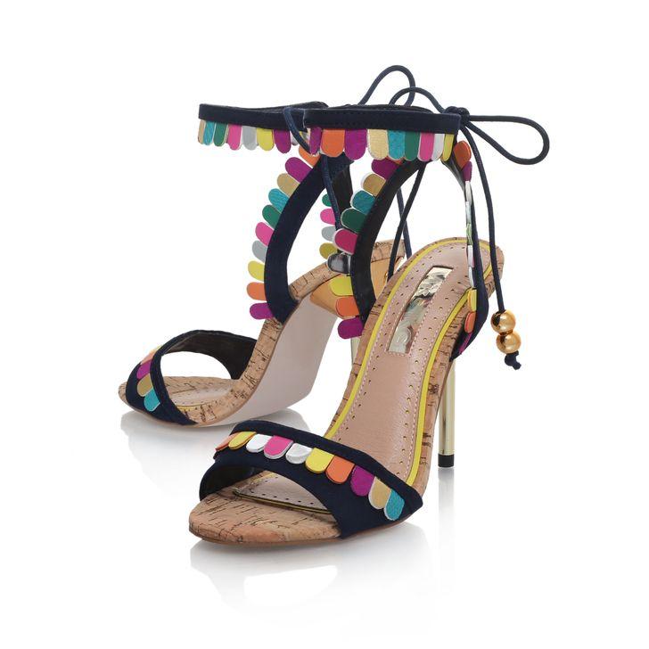 d9e7d8e1274 Freya Multi-coloured High Heel Sandals By Miss KG