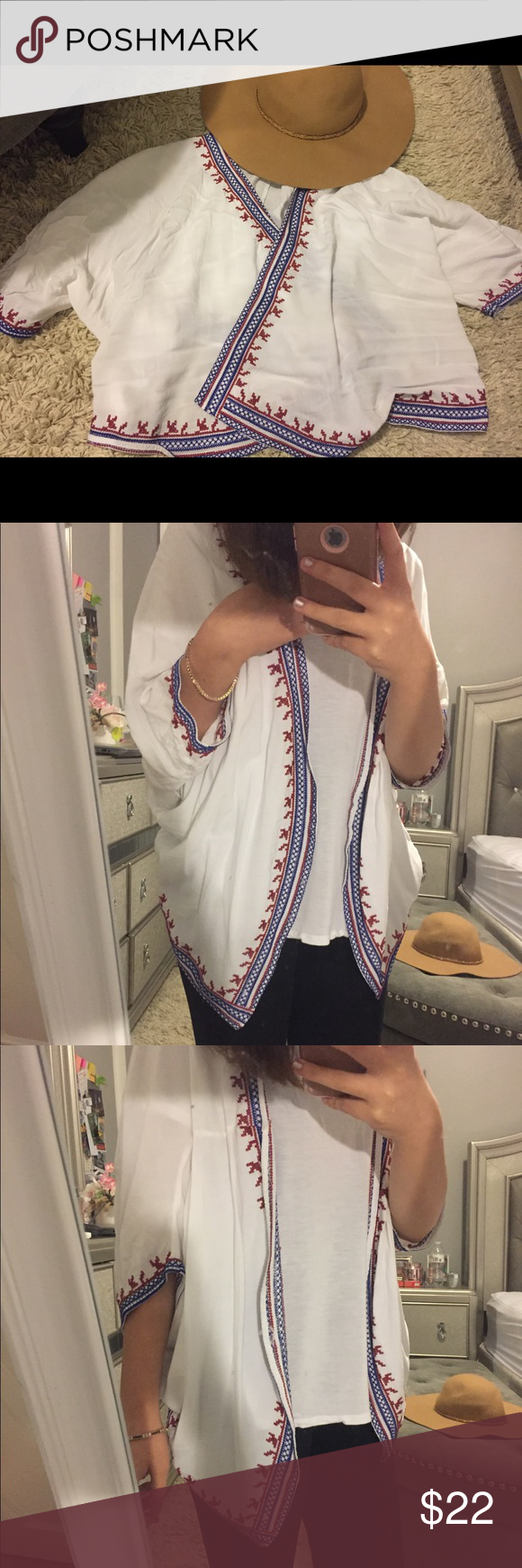 Cute white cardigan! Cute white cardigan, perfect for the beach! Forever 21 Other