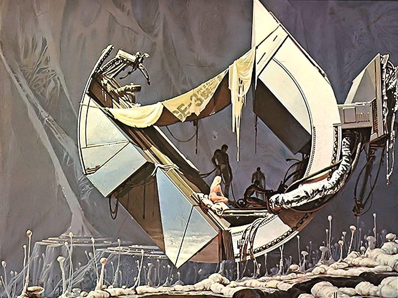 Syd Mead. sick!   Syd mead, Sci fi art, Sci fi concept art