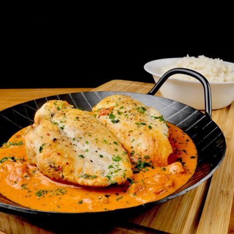 Photo of Chicken Breast in a Tomato Cream Cheese Sauce – Too Lazy to Cook?