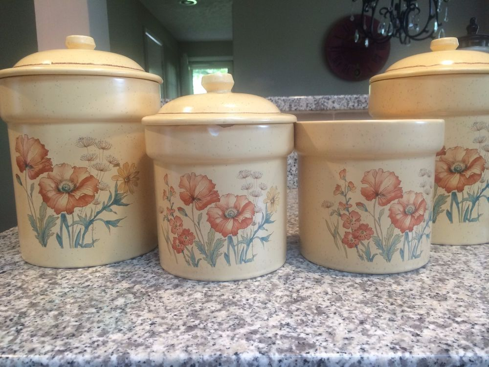 38++ Pottery craft usa canister set ideas