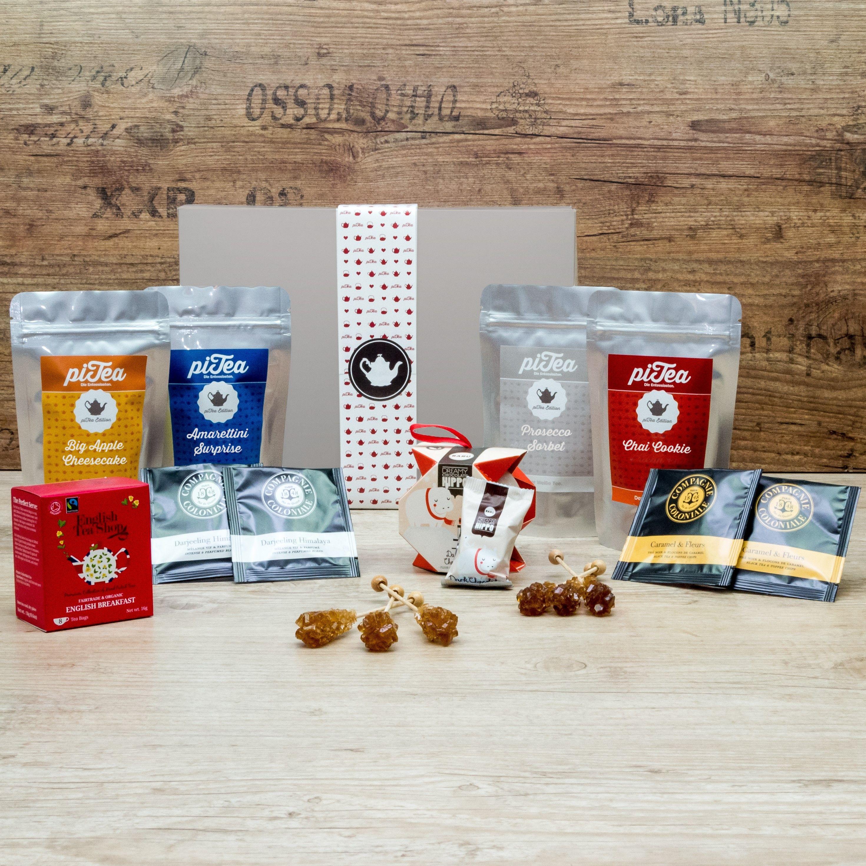 Unsere Geschenk Box Gala zeichnet sich durch exklusive Teekreationen und besinnliche Extras aus!