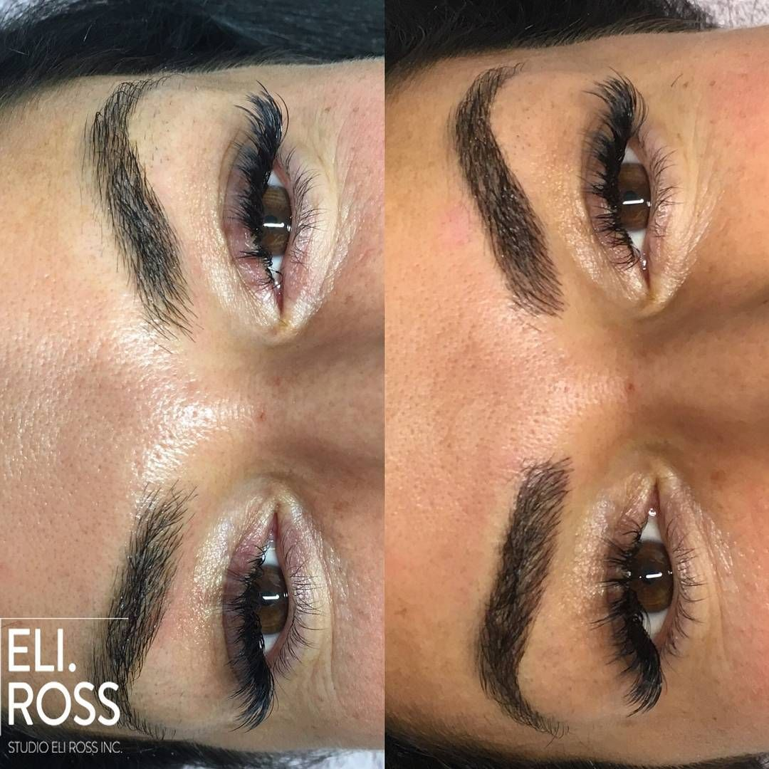 Perfect Eyebrows By Nano Needle VS Microblading in Montreal