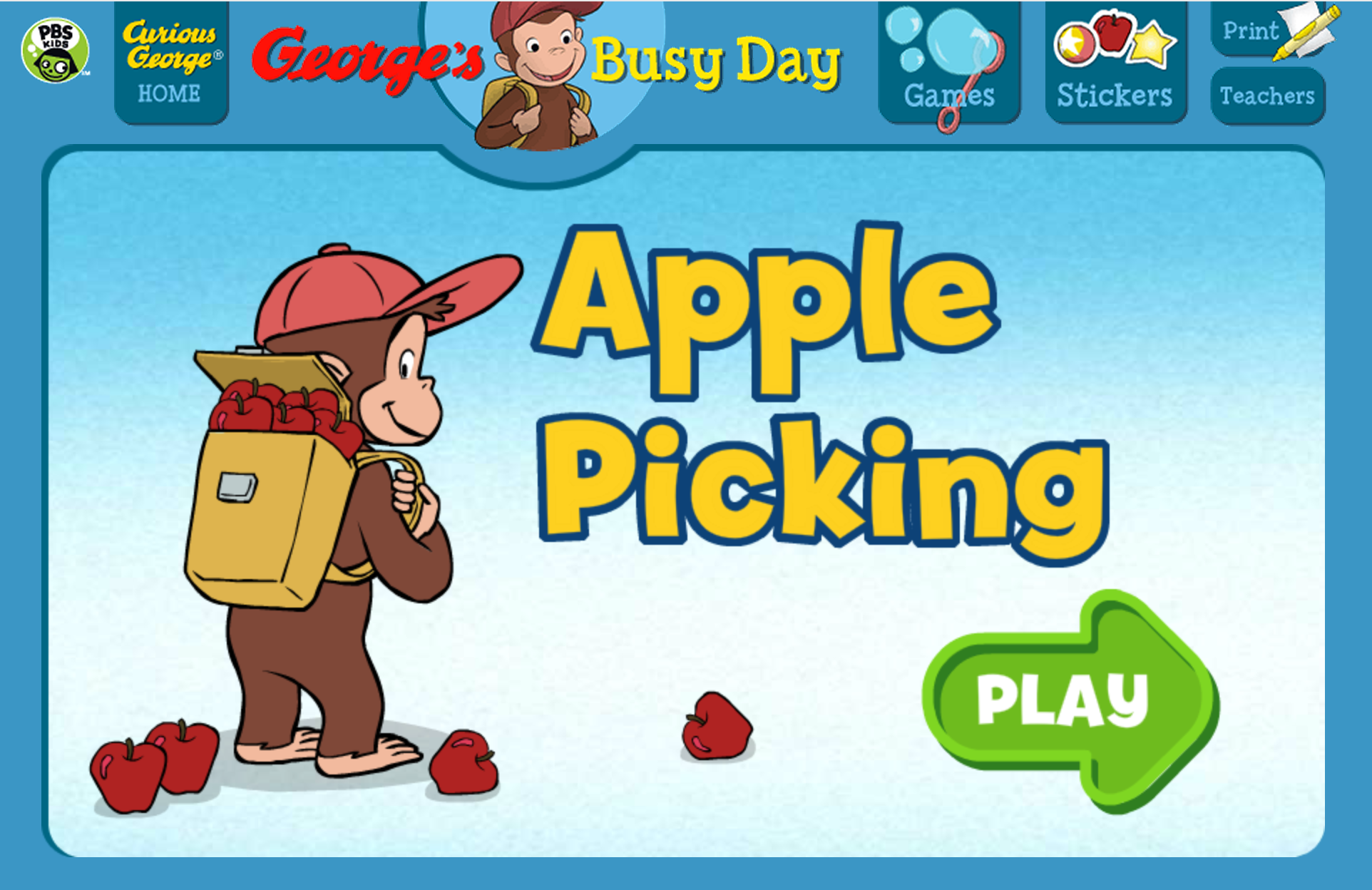 Get Into The Spirit Of The Season Go Apple Picking With Curious