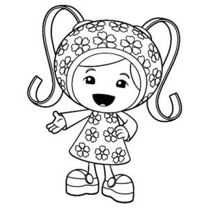Team Umizoomi Cute Little Milli In Team Umizoomi Coloring Page Cute Little Milli In Team Umizo Team Umizoomi Coloring Pages Inspirational Cute Coloring Pages
