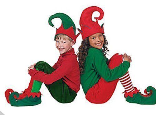 fad85949a37 Party Hat - Children s Christmas Elf Shoes   Hat (3 Piece Set ...