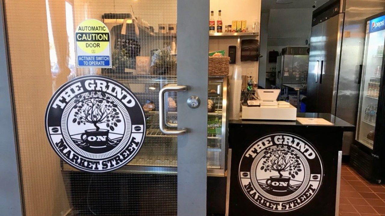 Get coffee tea and more at north oaklands new the grind