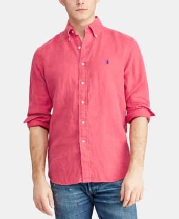 69287904 Polo Ralph Lauren Men Classic-Fit Linen Shirt in 2019 | Products ...