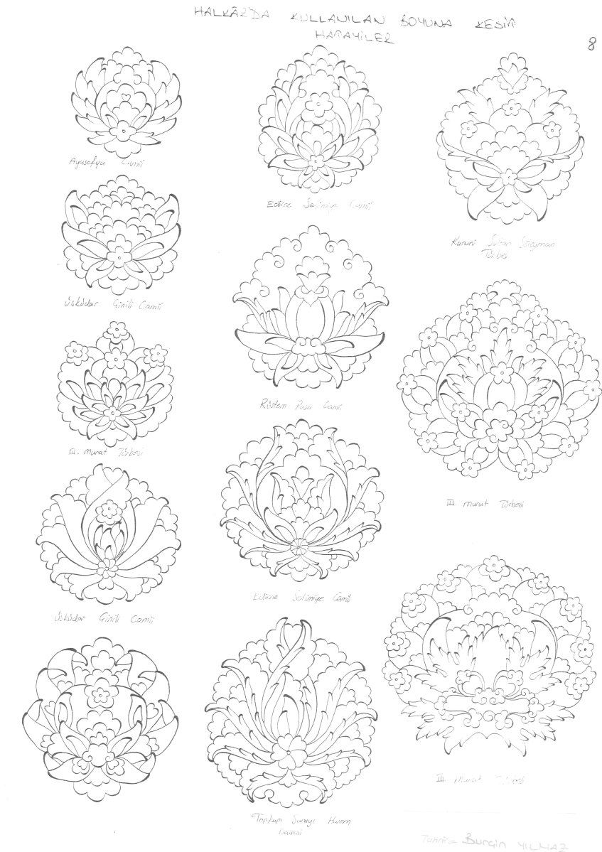 IMG_0011 | Sewing: Patterns | Pinterest | Floral, Ornamentos and Bordado