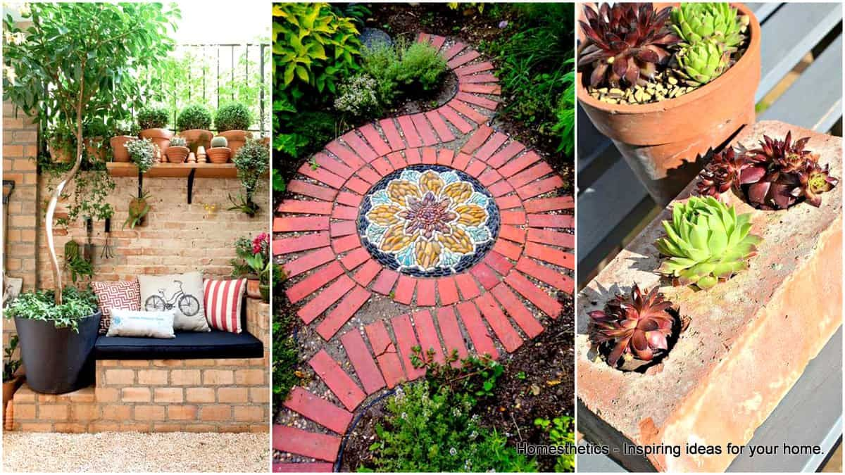 23 Beautiful And Ingenious Brick Projects For Your Home Brick