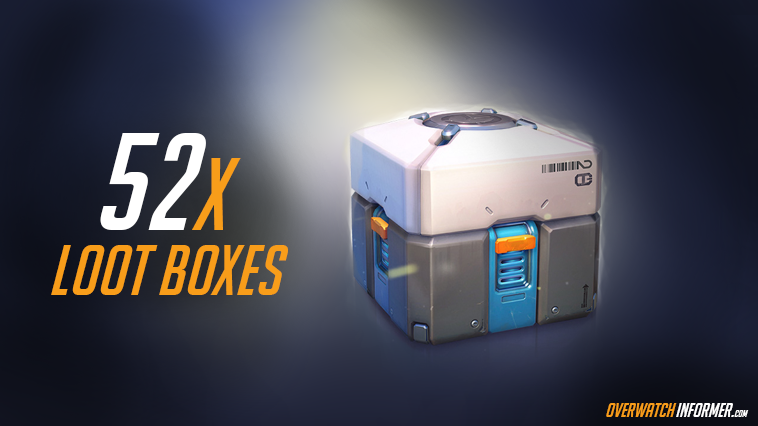 52 Overwatch Lootboxes 5bgiveaway 5d Electronics Games Overwatch Giveaway