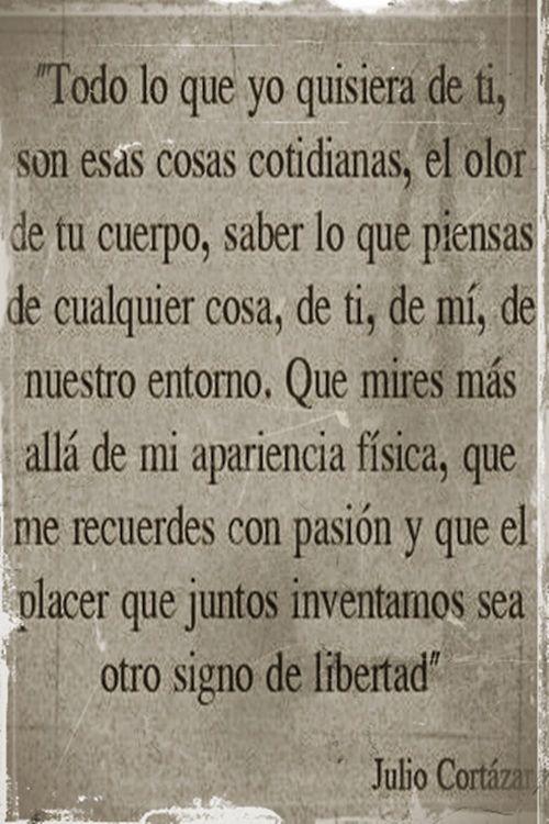 Mas Alla De Mu Apariencia Ideas Pinterest Julio Cortazar