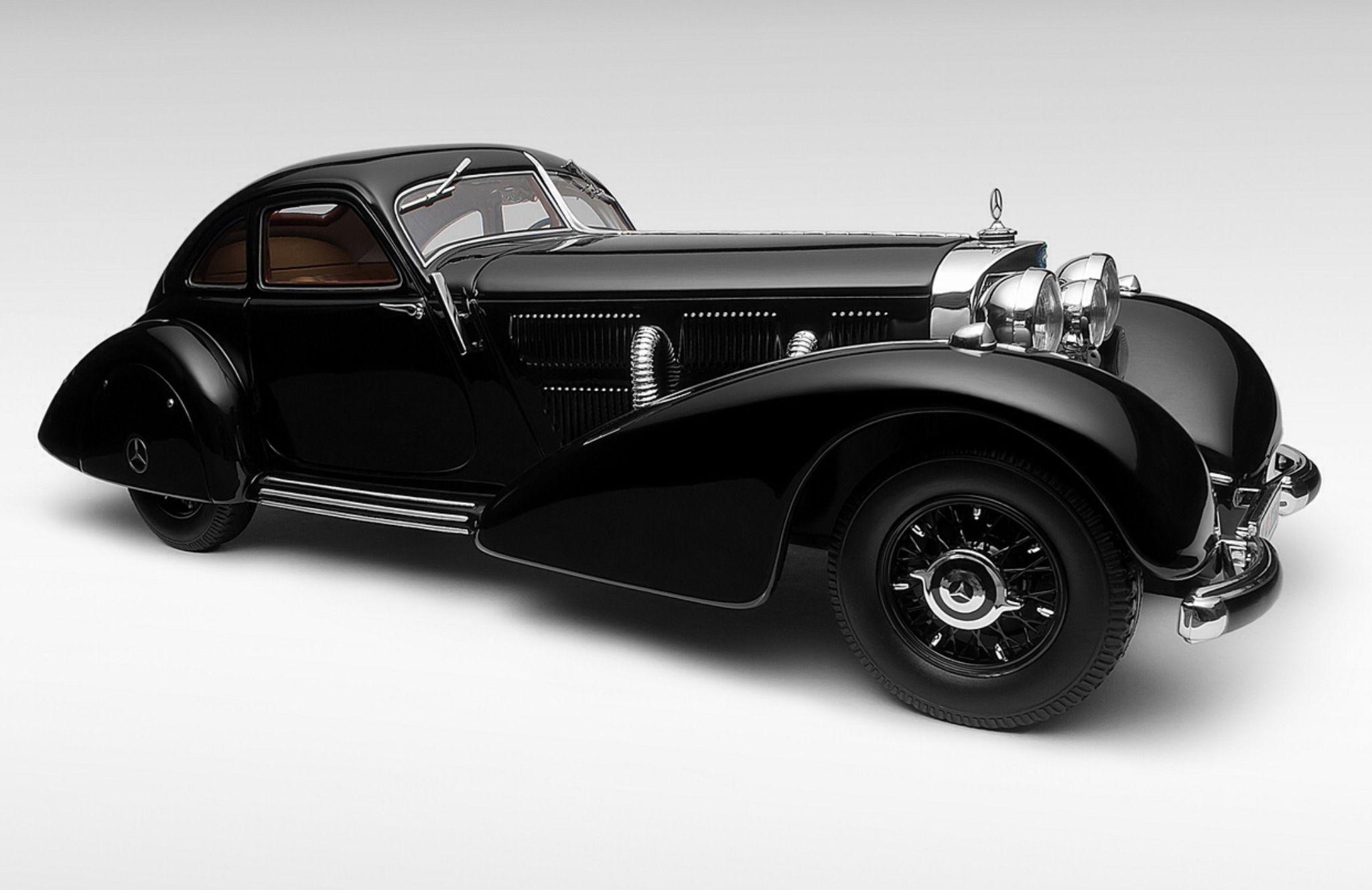1934 mercedes benz 540k autobahn kuner coupe carros for Mercedes benz autobahn