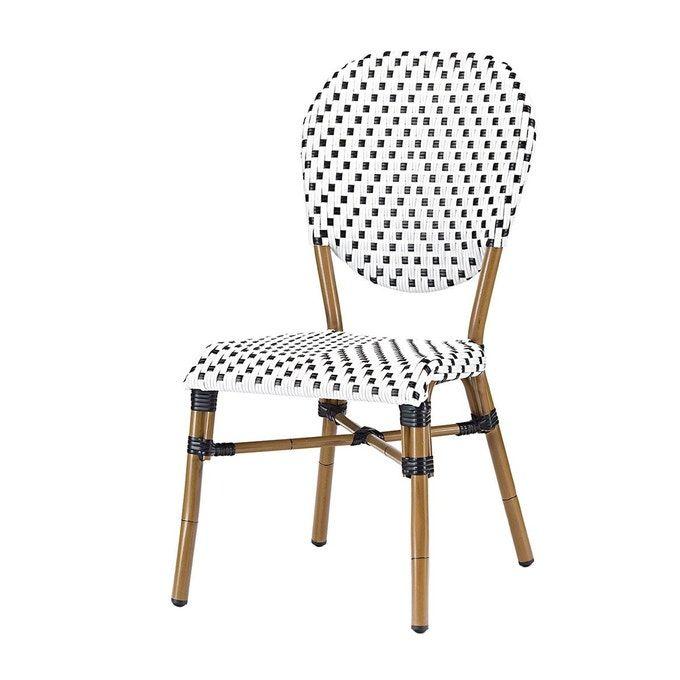 Chaise Bistrot Clar En Polyrotin En 2020 Chaise Bistrot Rotin Design Chaise Terrasse