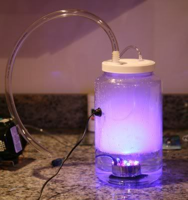 Diy Foggers Mason Jar Lamp Fishing Room Ultrasonic